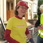 02 Baustellenführung: Bettina Klett (Vorstand)